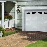 white-garage-door